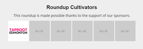 Cultivator Sponsor
