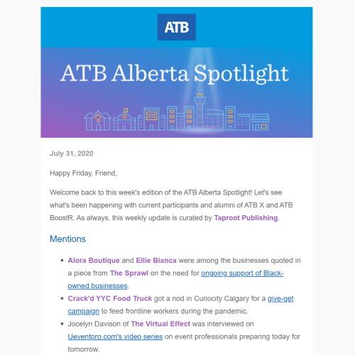 ATB Alberta Spotlight