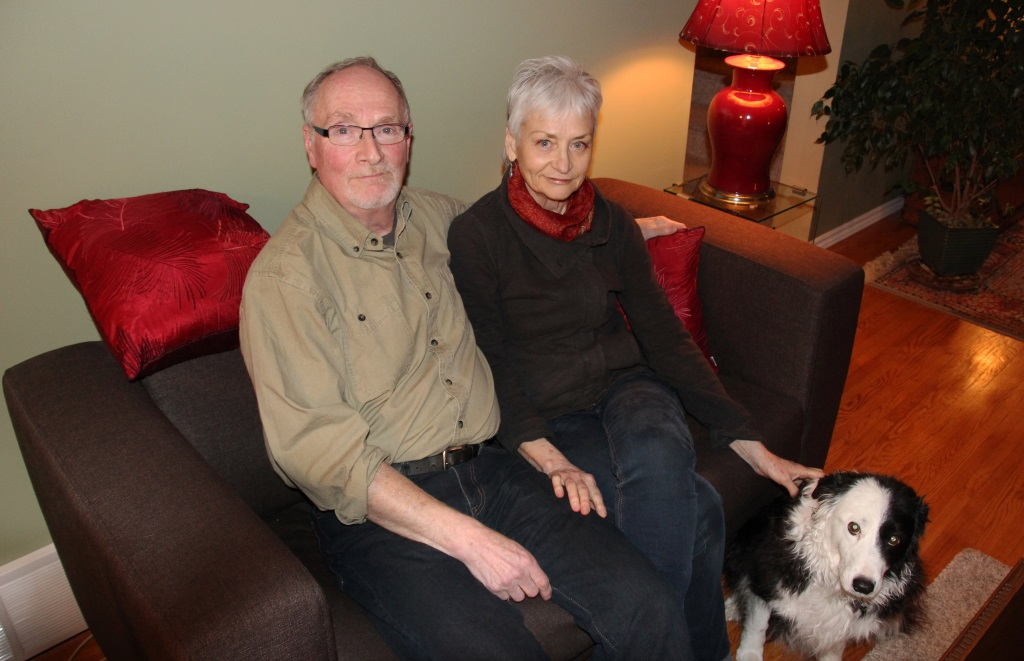 Steve Finkelman and Jane Cardillo