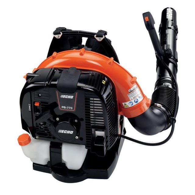 You may have found yourself serenaded by the roar of the Echo Model #PB770T quite a bit this winter. It's the backpack blower of choice for Yardly, a property maintenance service.