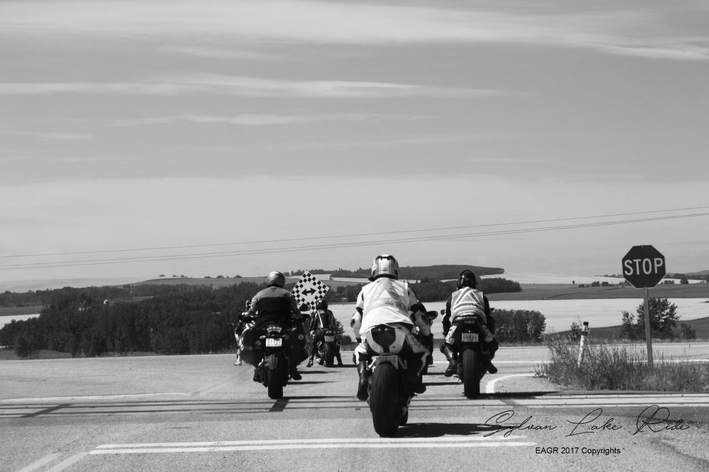 A scene from an Edmonton Area Group Rides trip to Sylvan Lake. Photo by Ronell Osias.