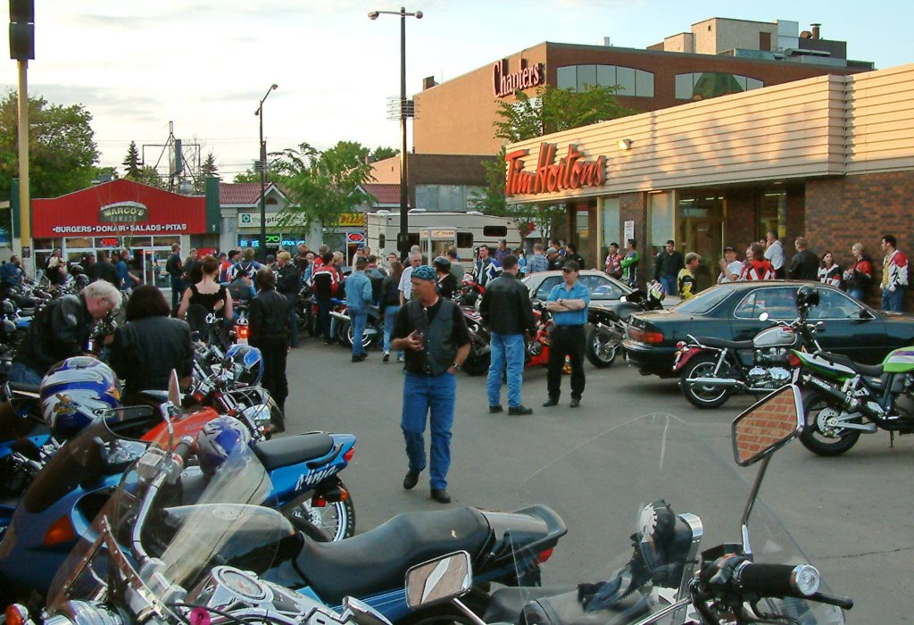 Whyte's motorcycle oasis, and the ties that bind