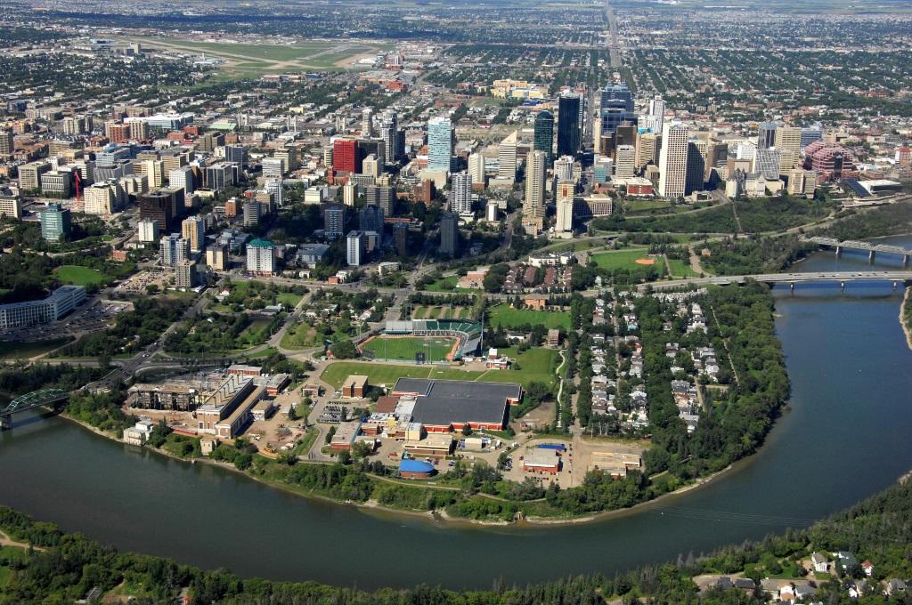 Where did Edmonton get its name?