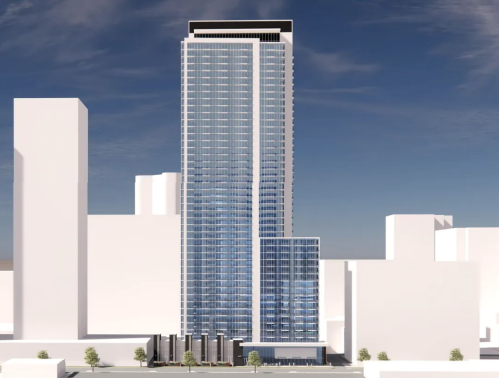 The proposed 106 Street Downtown Tower.