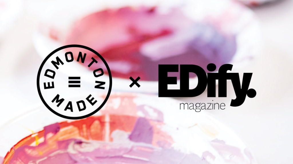 The Edmonton Made and EDify Magazine logos