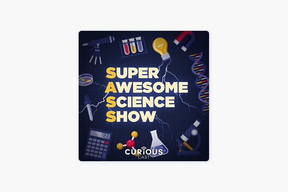 Cover art for Super Awesome Science Show