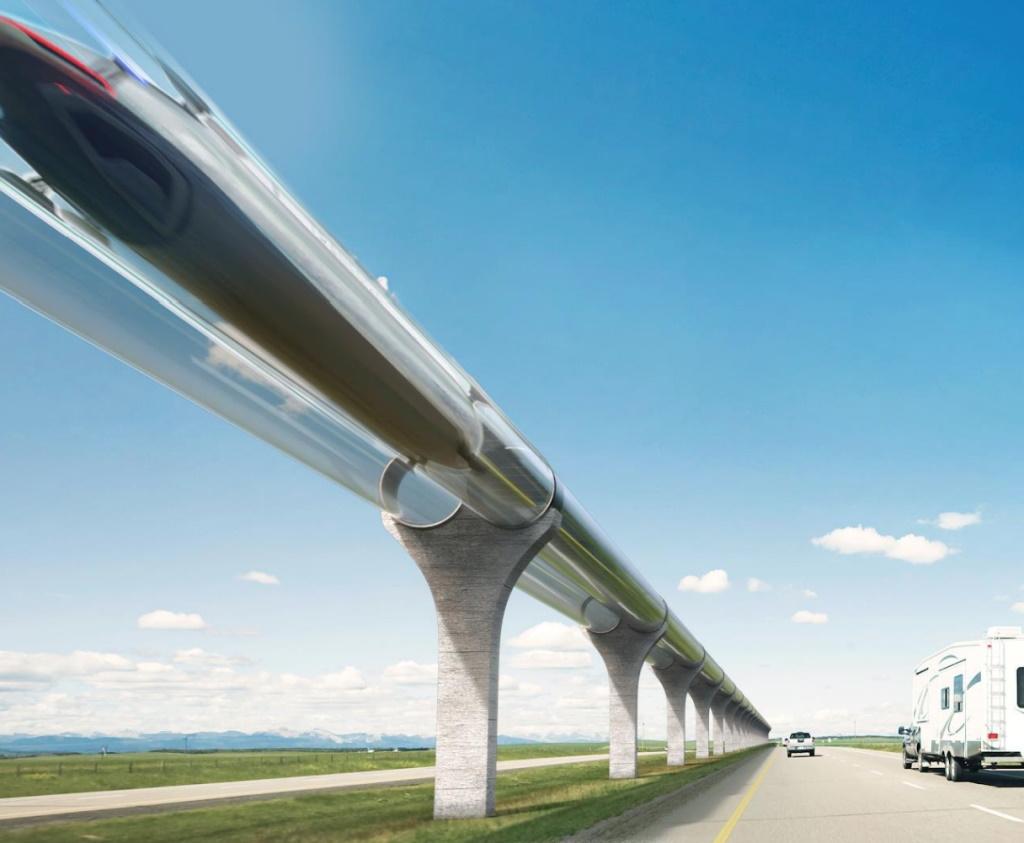 TransPod hyperloop